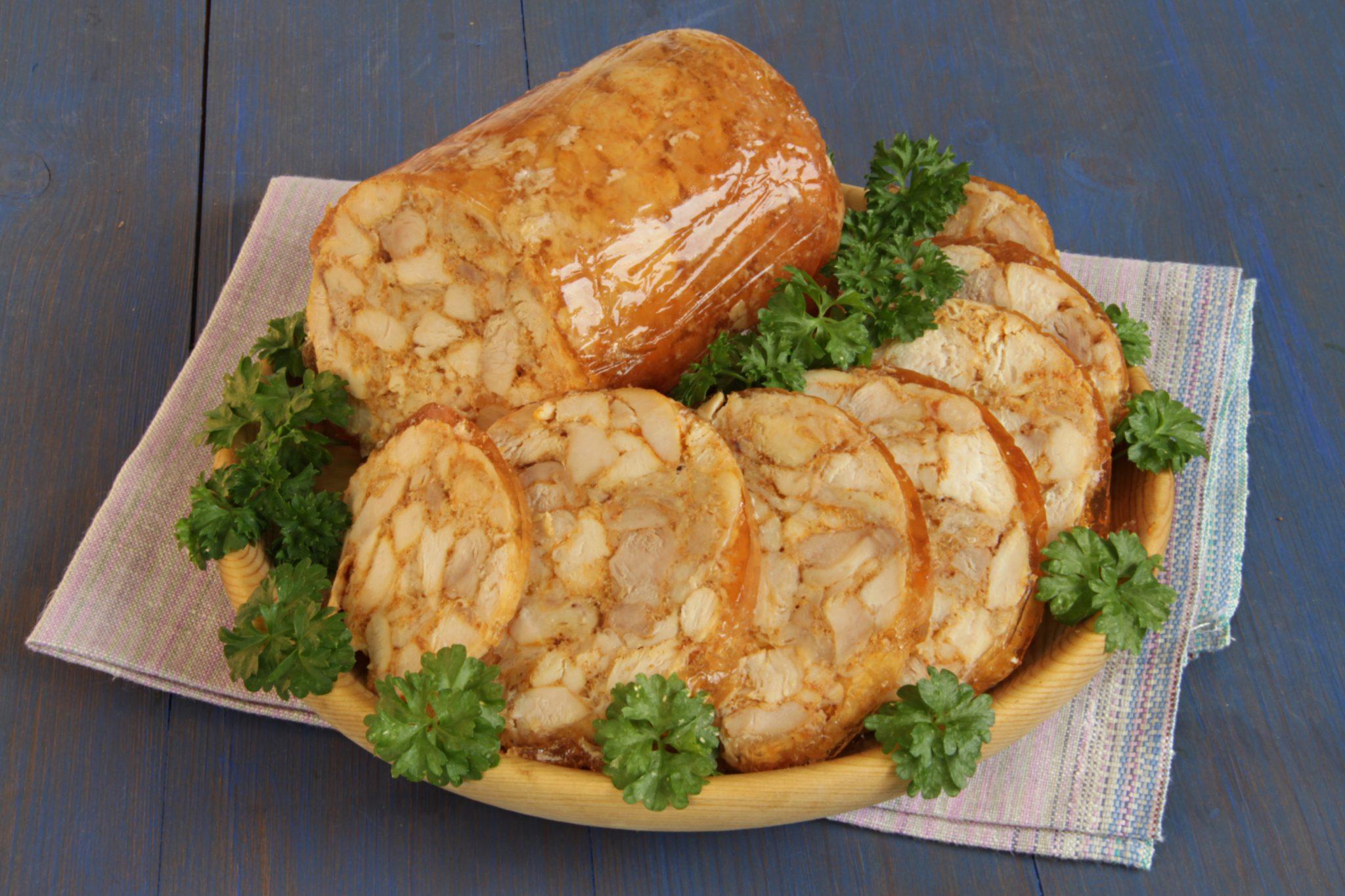 Куриная ветчина - настоящий домашний деликатес