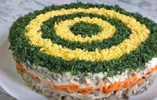 Салаты на Новый год 2019 - 7 рецептов новых простых салатов