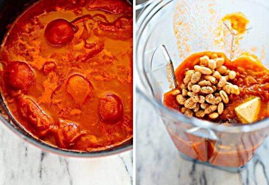 томатный суп пюре рецепт с фото пошагово