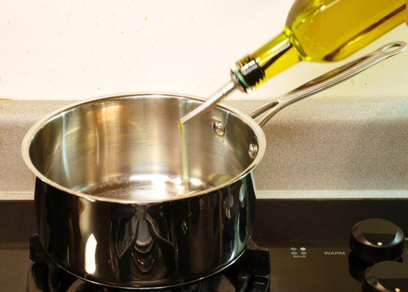 Фотки масло в кастрюле