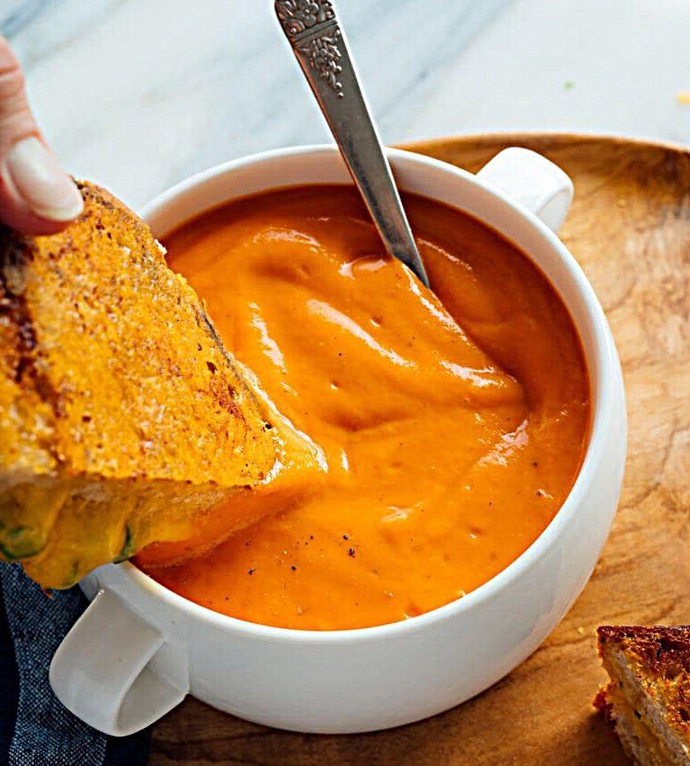 лучший рецепт томатного крем супа
