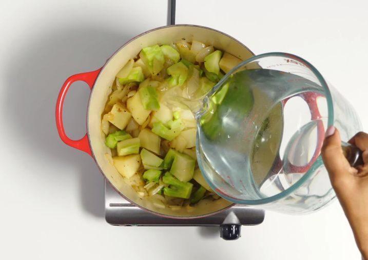 крем суп с брокколи и сыром