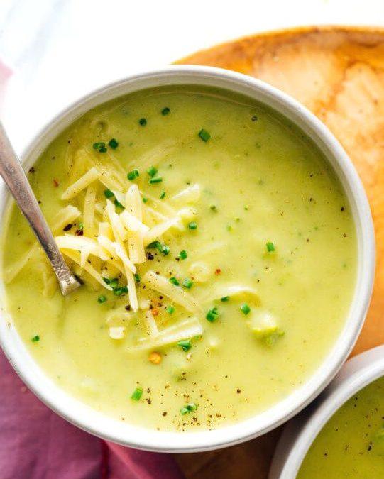 диетический овощной суп пюре