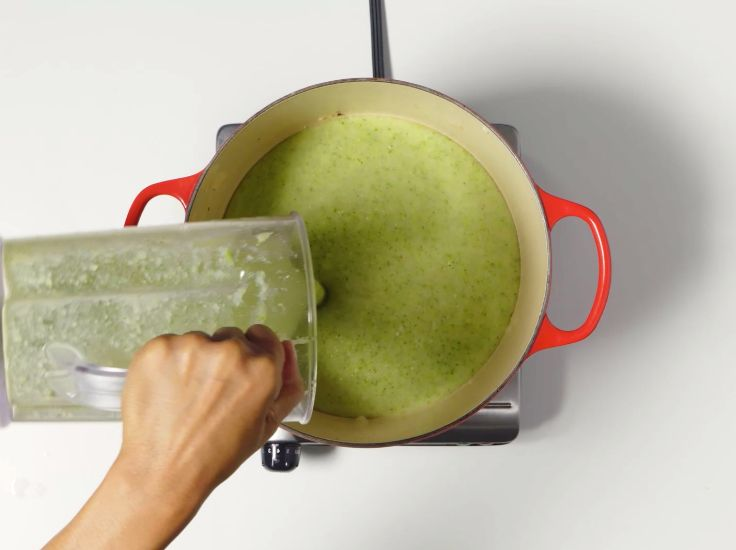 сырный суп с брокколи рецепт с фото