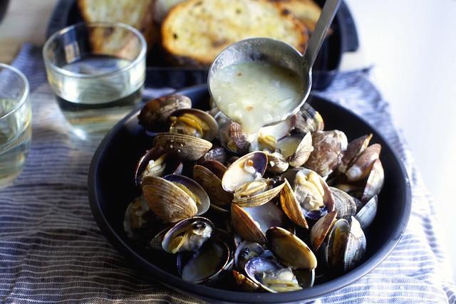 блюда из моллюсков