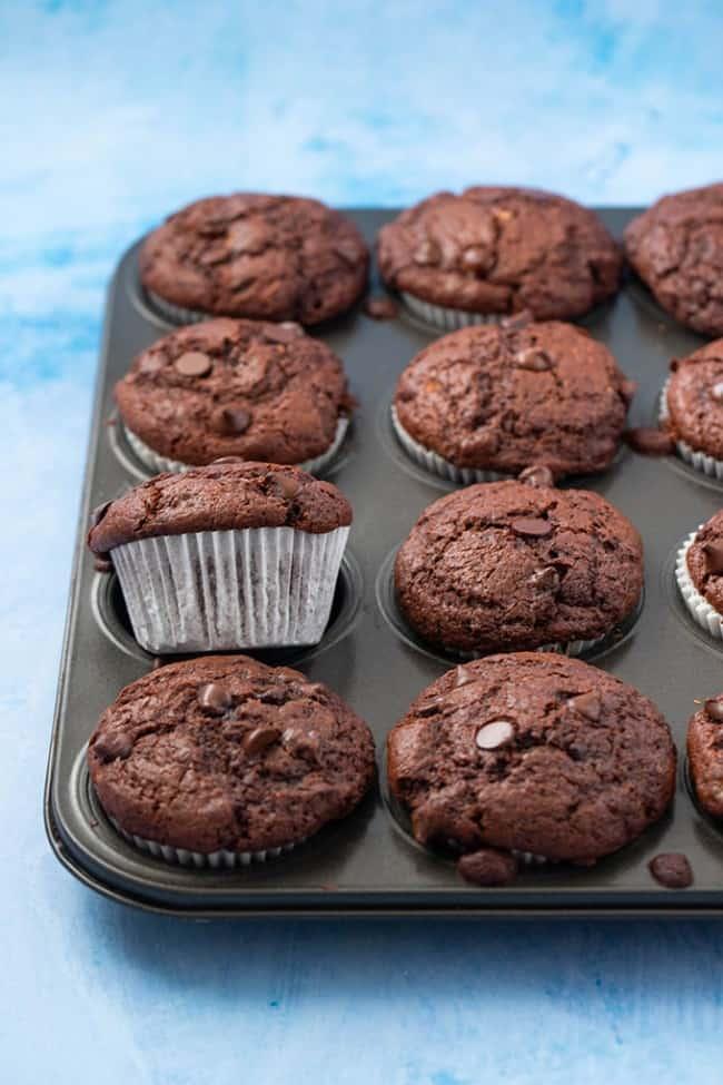 шоколадный банановый кекс рецепты с фото