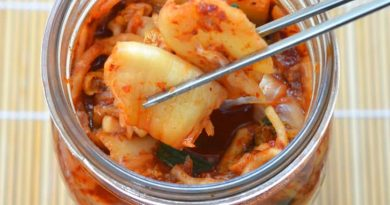 Кимчи – рецепт из пекинской капусты