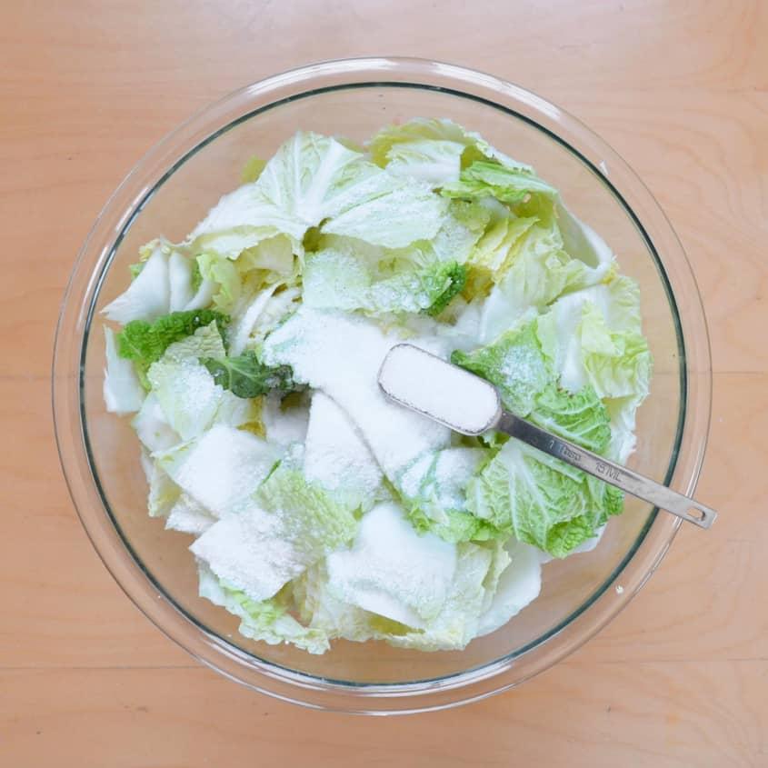 рецепт кимчи из пекинской капусты быстро