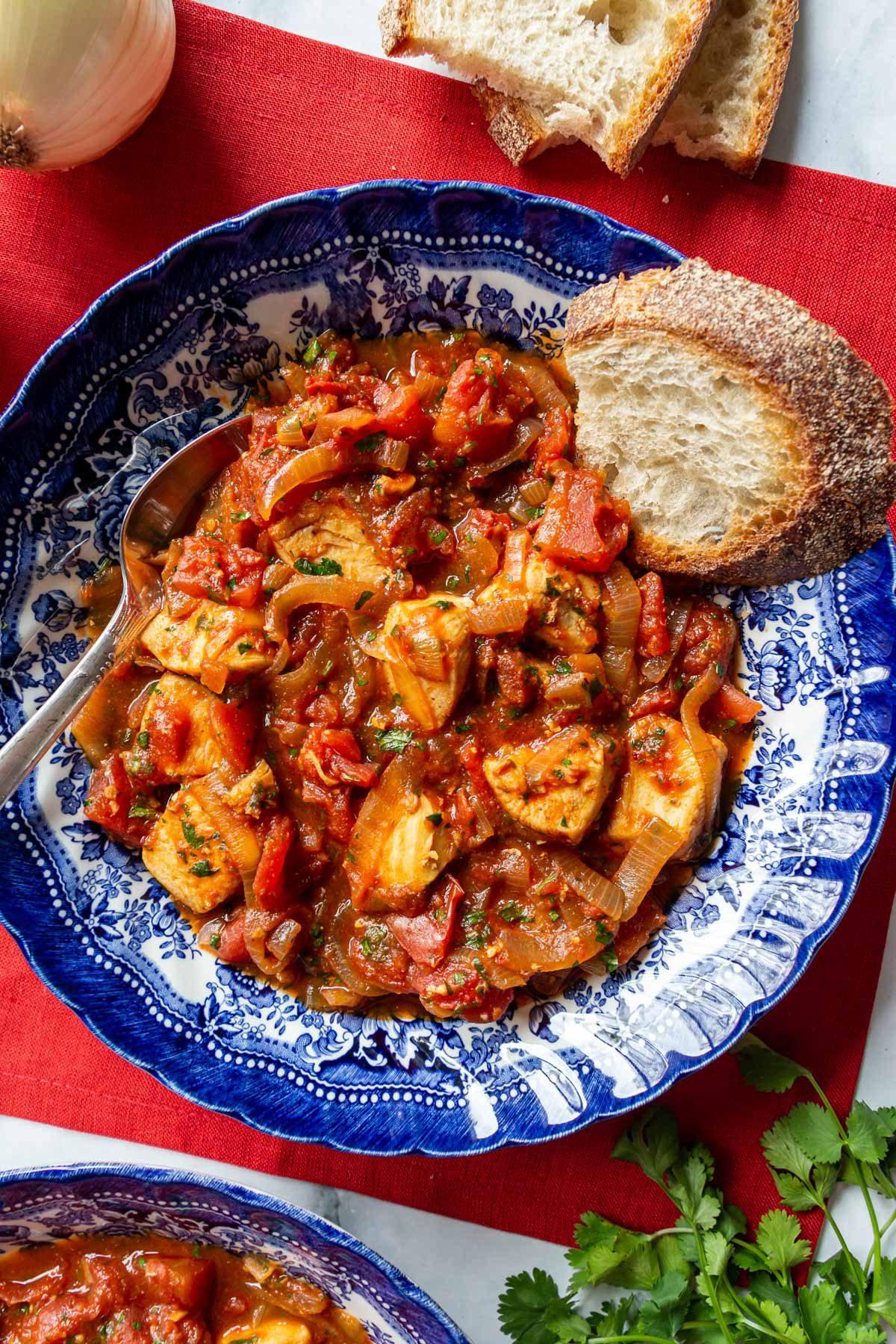 чахохбили из курицы классический рецепт с томатной пастой