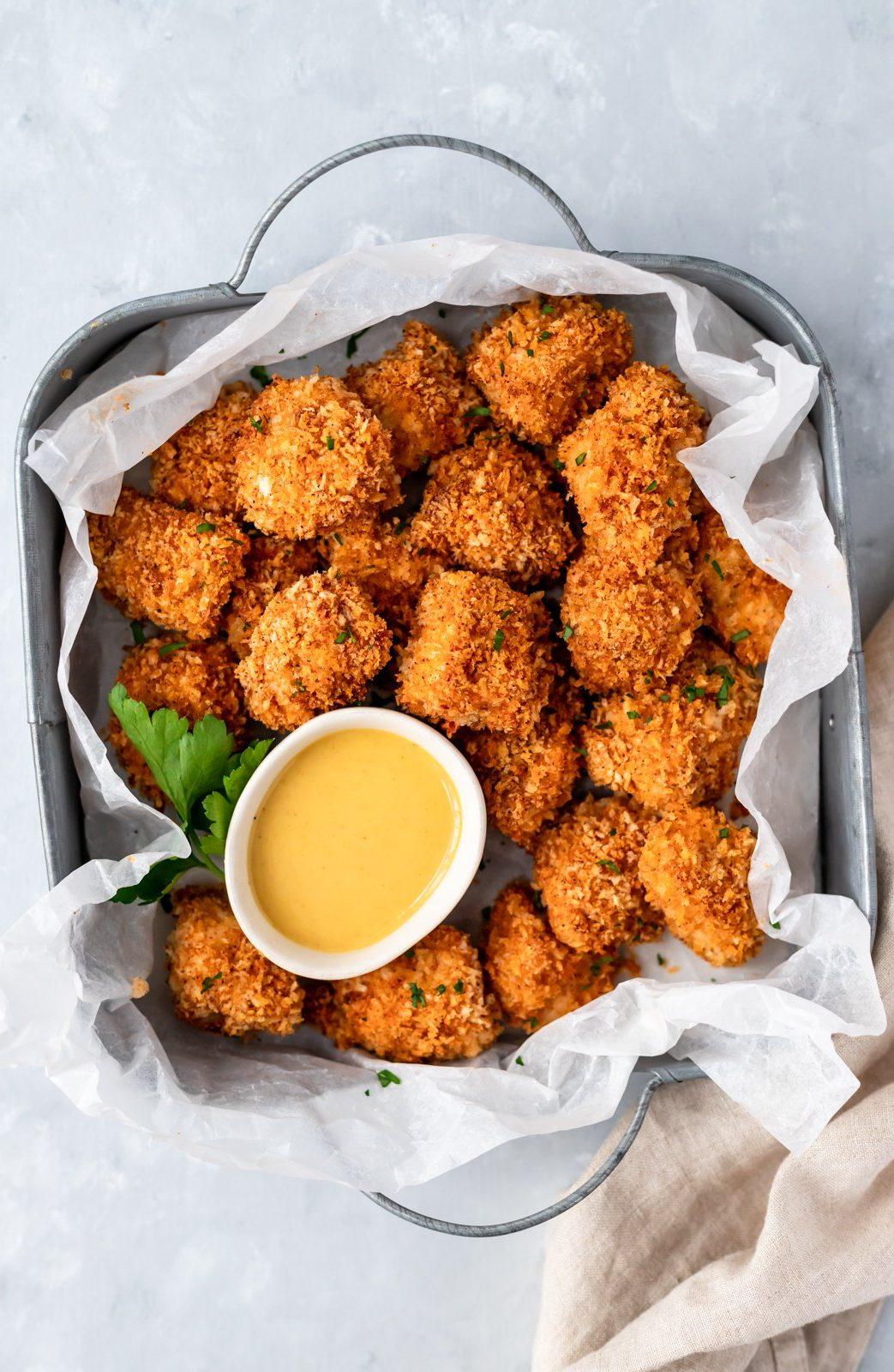 как приготовить куриные наггетсы в духовке